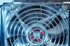 Cooling fan fragment Stock Images
