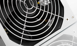 Cooling Fan Grille Close Up With Reflection Stock Photography