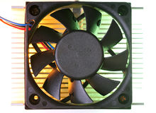 Cooling fand heat sink Stock Photography