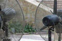 Cooling fans Stock Photo