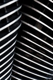 Motorcylce Engine Cooling Fins Royalty Free Stock Images