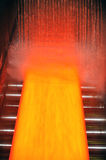Cooling hot steel plate Stock Photo