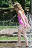 Cooling Off Royalty Free Stock Images