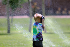 Cooling Off Royalty Free Stock Photography