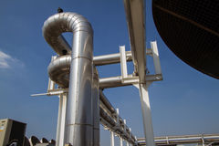 Cooling pipe Royalty Free Stock Photo
