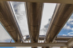 Cooling pipe Royalty Free Stock Photography