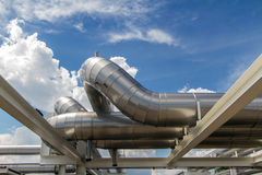 Cooling pipe Royalty Free Stock Photos