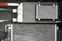 Cooling radiators Stock Photography