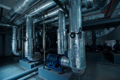 Cooling system Stock Image