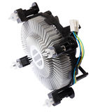 The cooling system of the central computer processor Royalty Free Stock Photography