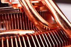 Cooling system for the CPU Royalty Free Stock Image