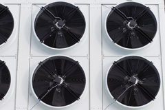 Cooling system warehouse Stock Images