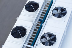 Cooling system warehouse Stock Photography
