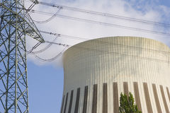Cooling tower 10 Royalty Free Stock Image