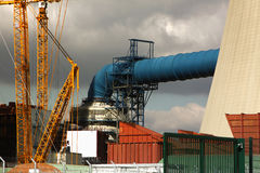 Cooling tower Royalty Free Stock Images