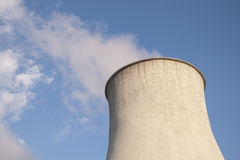 Cooling tower Stock Image