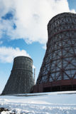 The cooling tower Stock Photos
