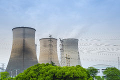 Cooling tower closeup Stock Photo