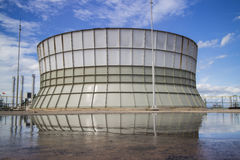 Cooling tower Stock Images