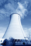 Cooling tower at an industrial enterprise Stock Image