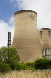 Cooling Tower. A Power Station cooling tower in the country royalty free stock images