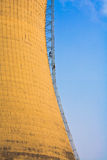 Cooling tower. Of the thermal power plant Royalty Free Stock Images