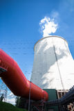 Cooling tower Royalty Free Stock Photography