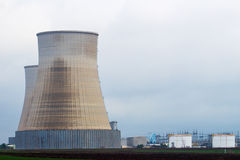 Cooling tower Royalty Free Stock Photo