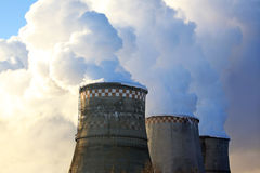 Cooling Towers Stock Image