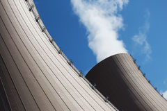The  Cooling towers of nuclear power plant Royalty Free Stock Photography