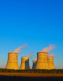 The cooling towers Royalty Free Stock Photo