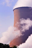 Cooling towers of the power plant. Stock Image