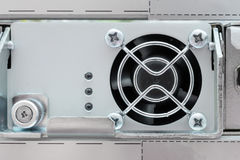 The cooling unit of industrial computer. Royalty Free Stock Image