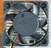 Cooling ventilation system for computer Stock Images