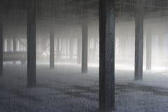 coolling innerst inne av tornet Arkivfoton