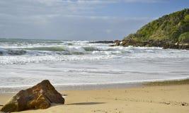 Coolum4, ακτή ηλιοφάνειας, Queensland, Αυστραλία Στοκ εικόνα με δικαίωμα ελεύθερης χρήσης
