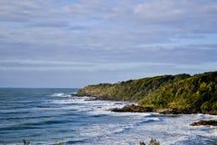 Coolum7, ακτή ηλιοφάνειας, Queensland, Αυστραλία Στοκ Εικόνες