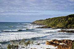 Coolum9, ακτή ηλιοφάνειας, Queensland, Αυστραλία Στοκ Εικόνες