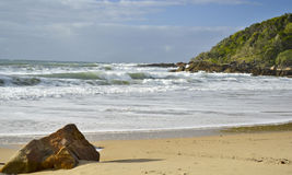 Coolum4, costa da luz do sol, Queensland, Austrália imagem de stock royalty free