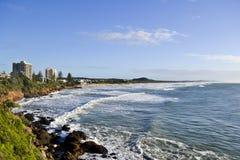 Coolum3 solskenkust, Queensland, Australien Arkivfoto
