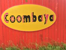 Coombaya, coolest Hippy shop in Coombs, BC. Coombs is a small community on Vancouver Island in British Columbia, situated on provincial highway 4A approximately Stock Photography