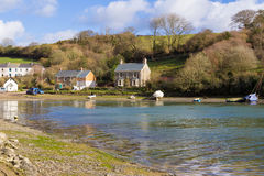 Coombe Cornwall Stock Image