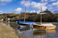 Coombe Cornwall Royalty Free Stock Images