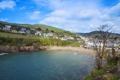 Coombe Martin Bay, dichtbij Ilfracombe-het Noorden Devon Royalty-vrije Stock Afbeelding
