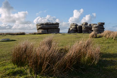 Coombestone Tor Royalty Free Stock Images