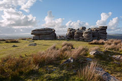 Coombestone Tor Royalty Free Stock Photography