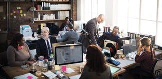 Coooperation Archievement pracy zespołowej Korporacyjny pojęcie obrazy royalty free