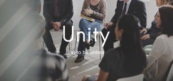 Coopération Team Concept de connexion de la Communauté d'unité Image stock