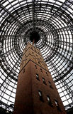 Coop's shot tower in Melbourne Stock Image
