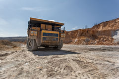 Cooper mine - Open pit 10 Royalty Free Stock Images
